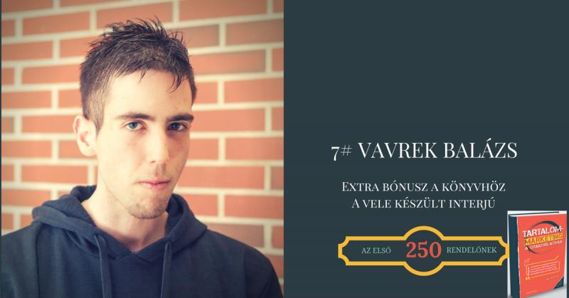 7# Extra Bónusz - Vavrek Balázs interjú a tartalommarketingről