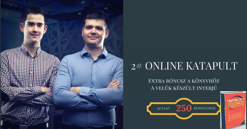 2# Extra Bónusz: Online katapult interjú