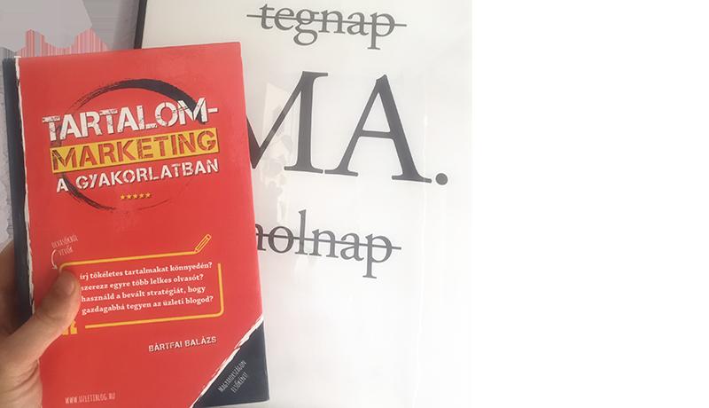 A meggyőző Sales szöveg a Tartalommarketing könyvhöz