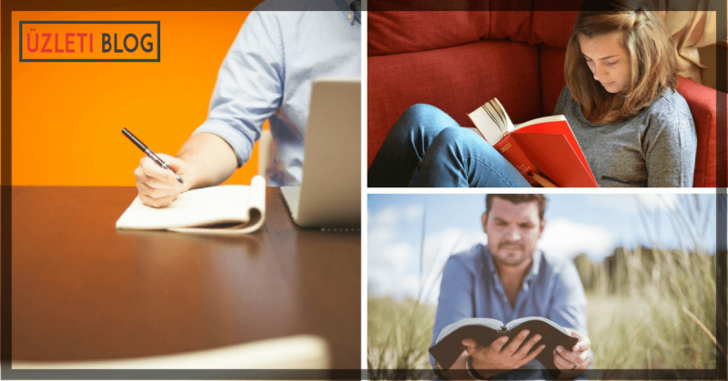 27 tartalommarketing könyv és még több blog, amiből sokat tanulhatsz