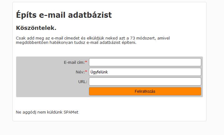 Hogyan Építs E-mail Adatbázist a Honlapoddal? Itt Van 11 Módszer
